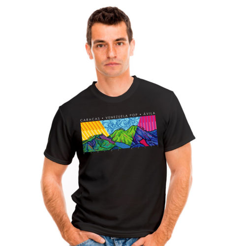 T-shirt Avila in three times