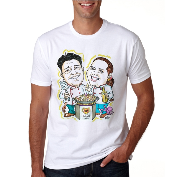 T-shirt with your cartoon