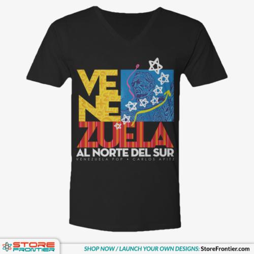 venezuela flag V neck