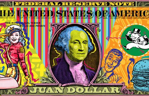 Juan Dolar fine art by Carlos Apitz